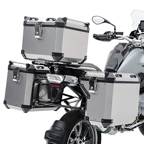 Set Alu Koffer für KTM 1090 Adventure/R 17-19 + Topcase + Kofferträger ADX130