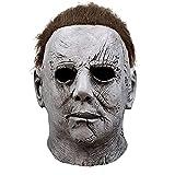 WECOLKIR Máscara de látex de Michael Myers para adultos, disfraz de terror cosplay, perfecto para carnaval y Halloween, unisex