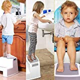 Mixen Step Stool for Kids - Toddler Stool for Toilet Potty Training |