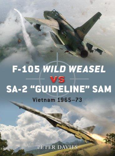 F-105 Wild Weasel vs SA-2 'Guideline' SAM: Vietnam 1965–73 (Duel Book 35) (English Edition)