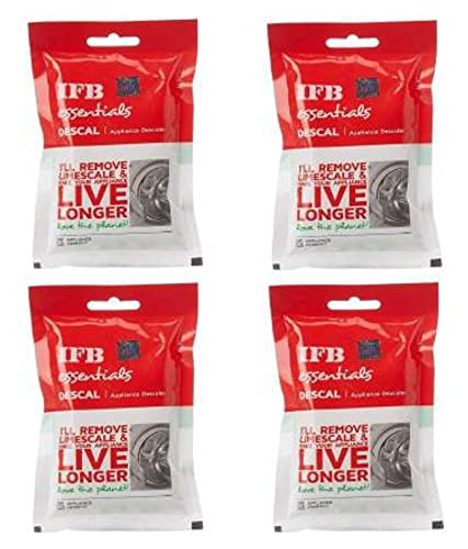 Descale Powder IFB Essential for Washing Machines 100 g (Pack of 4)