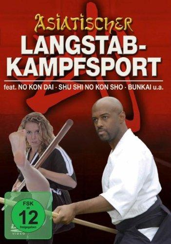 Asiatischer Langstab-Kampfsport