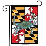 "Briarwood Lane Maryland Summer Garden Flag Crabs Nautical 12.5"" x 18"""