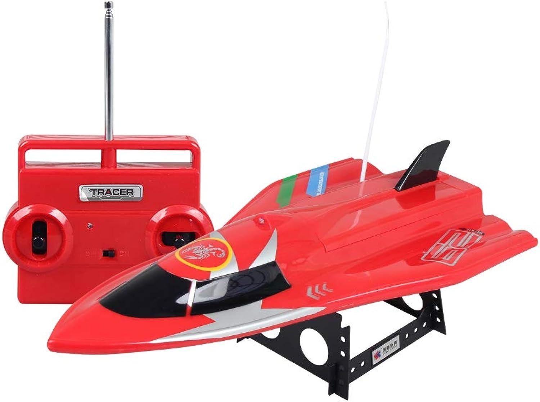 marca en liquidación de venta YRE 2.4 GHz GHz GHz de Alta Velocidad de Control Remoto Barco eléctrico (Rojo, blancoo), Modelo de Juguete de Remo, Adulto, Niño,rojo  de moda
