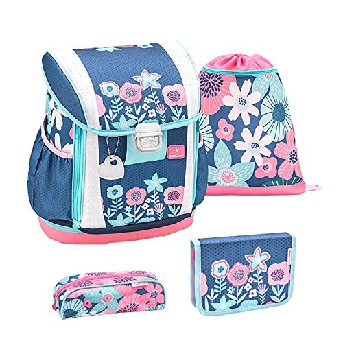 Belmil Set de mochila y accesorios escolares 404-20 Floral