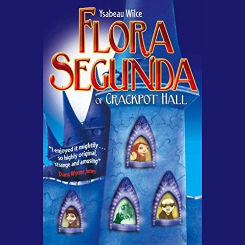 Flora Segunda audiobook cover art