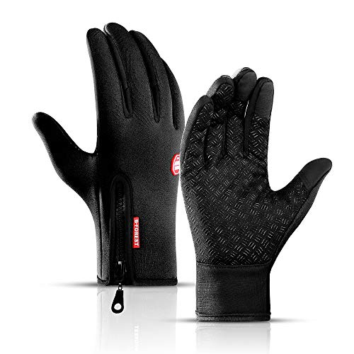 Unisex Sporthandschuhe Handschuhe Herren Damen Warme Winterhandschuhe Fahrradhandschuhe Touchscreenhandschuhe Laufhandschuhe Leicht Sporthandschuhe für Laufen, Fahren, Radfahren, Wandern - size L