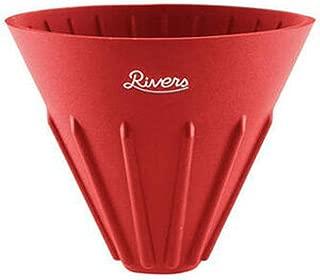 (リバーズ) RIVERS コーヒードリッパー ケイブ リバーシブル レッド