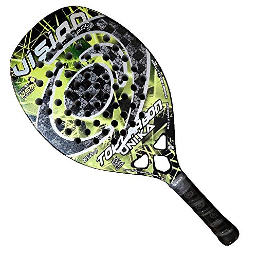 Raquete de Beach Tennis Vision Top Carbon Uni.ka 2020