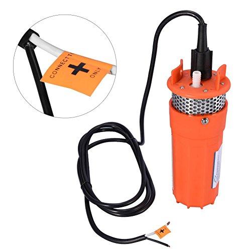 Solor aangedreven water dompelpomp, 1/2 inch 12V dompelpomp diep water DC pomp alternatieve energie op zonne-energie - draagbare huis tuin gazon sprinklerpomp