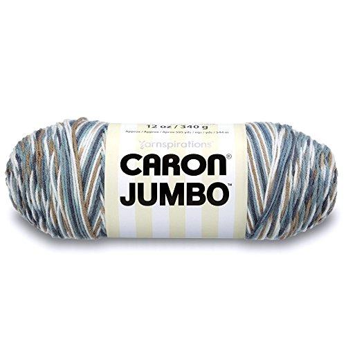 Caron Jumbo Ombre Yarn, 12 oz, Country Basket, 1 Ball