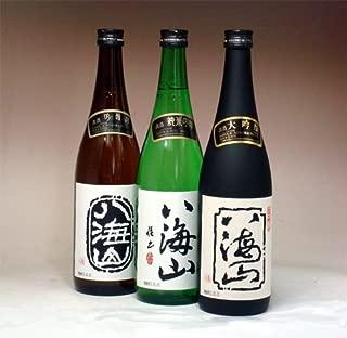 八海山 吟醸 ・純米吟醸・大吟醸 720ml のみ比べセット