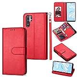 Étui pour téléphone pour Huawei P30 Pro Ultra-Mince 9 Cartes Horizontal Toam Coating Horizontal,...