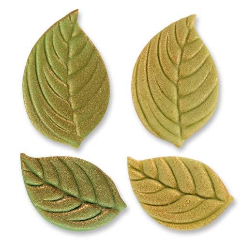 Günthart 100 Stück Marzipan Blätter, antik