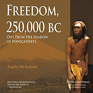 Freedom, 250,000 BC audiobook cover art