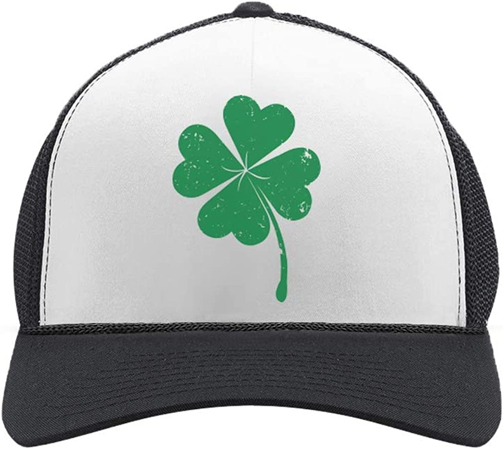 Over item handling St. Patrick's Day Shamrock Max 62% OFF Irish Clover Green Four-Leaf Trucker