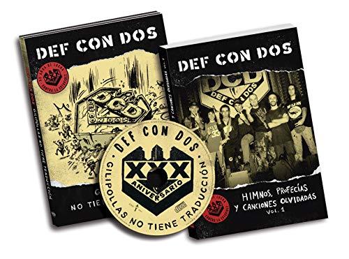 Def Con Dos - Gilipollas No Tiene Traducción (Cd Digipack + Libro)