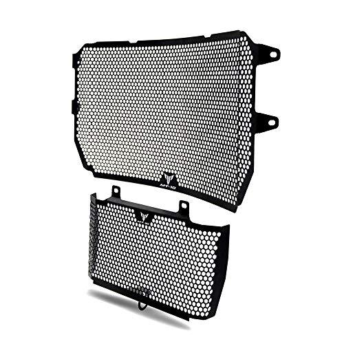 MT10 Motorrad Kühlerabdeckung Edelstahl Kühlerschutz Schutzgitter & Öl Kit-Schutz für Yamaha MT10 MT-10 MT 10 FZ 10 FZ10 2016-2020 MT-10 SP 2016-2020