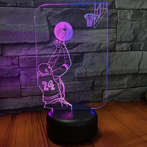 Youth Night Light Table lamp Cute Table lamp 3D LED Small Table lamp USB Interface Touch Remote Control Light Colorful Night Light