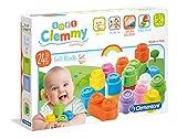 La confezione contiene 24 morbidi mattoncini Baby Clemmy. Clementoni Costruzioni