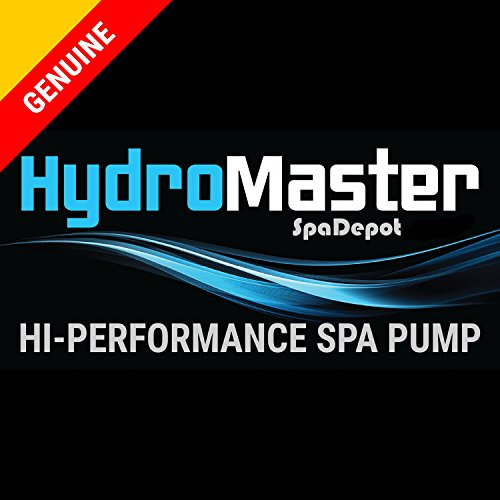 HydroMaster 2 HP Hot Tub Spa Pump Side Discharge 2-SPD 48-Frame LX Motor 240V (Also Replaces Waterway or Aqua-Flo)