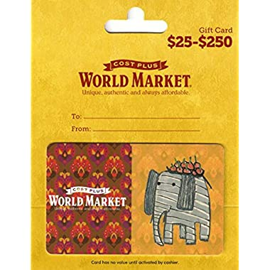 Cost Plus World Market Gift Card $100