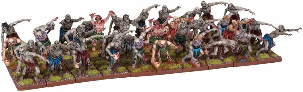 Mantic Games MGKWU33-1 Zombie Model Max 62% OFF Manufacturer regenerated product Horde Miniature Multicolour