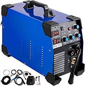 Mophorn MIG Welder 270 Amp MIG TIG Arc Welder 3 in 1 Welder Welding Machine 110V 220V TIG Welder Lift ARC Welder MMA Stick IGBT DC Inverter Welder Digital Display Combo Welding Machine from Mophorn