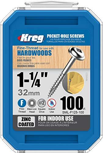 Maxi-Loc 100 pièces en zinc fin 3,2 cm