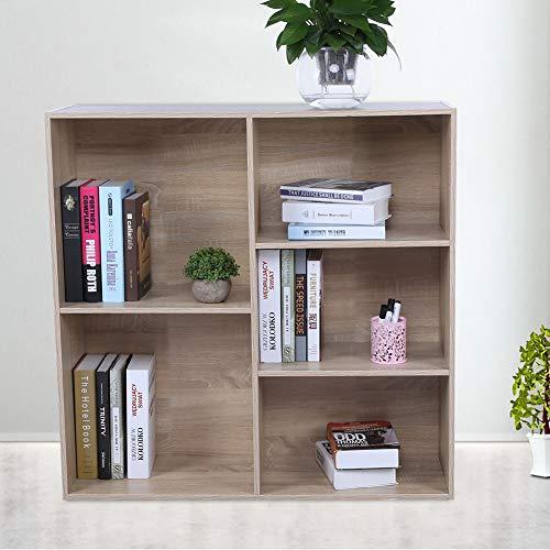 Zoternen 5 kubus opslag boekenplank, modulaire boekenkast rekken Display plank opslag eenheid