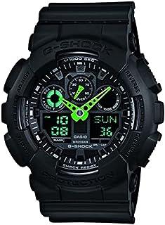 Men's G-Shock Quartz Sport Watch with Resin Strap, Black,...