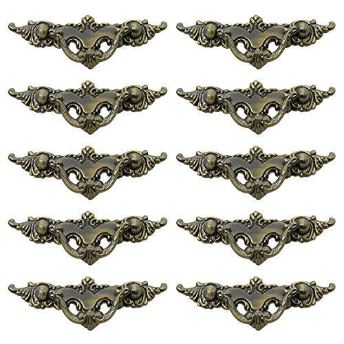 Probrico Handles and Knobs for Cabinets Kitchen Drawer Pulls 2.5 Inch Hole Centers 10 Pack of Lot
