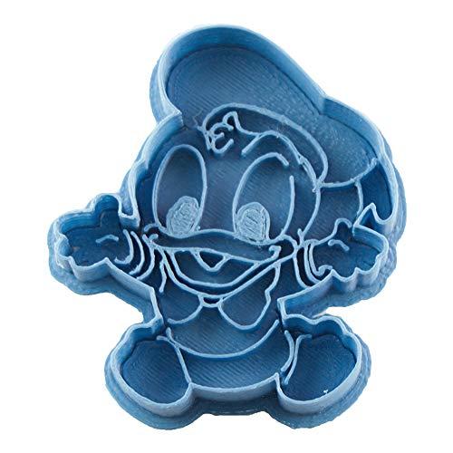 Cuticuter Pato Donald Bebe Disney Cortador de Galletas, Azul, 8x7x1.5 cm