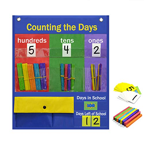 days of school chart - 1