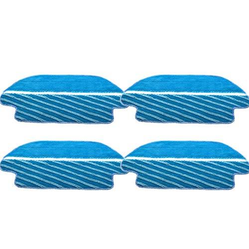 DONGYAO Cepillo de filtro HEPA para aspiradora Cecotec Conga 3290 3490 3690 3390 piezas de repuesto de cepillo lateral para aspiradora (color 4 fregonas)