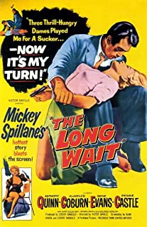 The Long Wait POSTER Movie (27 x 40 Inches - 69cm x 102cm) (1954)