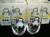 サントリー 理想型 ペンギングラス 6オンスタンブラー1箱2個入 生ビール 昭和 レトロ パピプペンギンズ 松田聖子CM