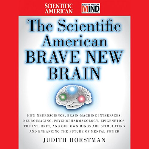 The Scientific American Brave New Brain audiobook cover art