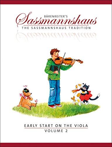 Sassmannshaus, Kurt - Early Start on the Viola Book 2 Published by Baerenreiter Verlag