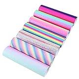 David accessories Regenbogen-glänzende, superfeine