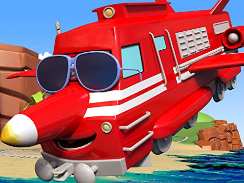 The Jet Plane / The fire Train put out a fire / The hoverboard train / The Repair Train