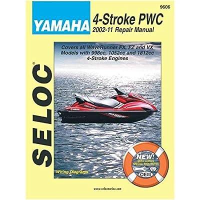 Seloc Manual - Yamaha 4-Stroke Personal Watercraft, 2002 - 2011