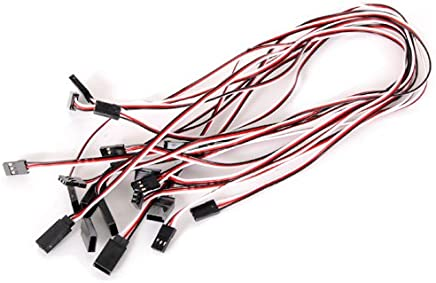 10pcs 520mm Servo Extension Leads Hilos Cables Wires