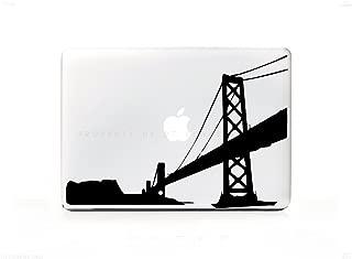 San Francisco Cliffs Golden Gate Bridge Sticker Decal For MacBook Pro 13