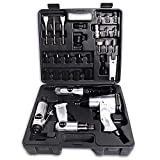 Air Tool Set, 30-Piece Air Tool Accessory Kit, Impact Wrench, Air Ratchet, Die Grinder, Air Hammer 4 in 1 Box and Accessories (4 in 1 Box)