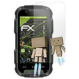 atFolix Bildschirmfolie kompatibel mit Simvalley-Mobile SPT-900 Spiegelfolie, Spiegeleffekt FX Schutzfolie