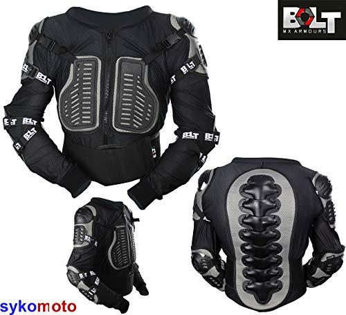Bolt Core-1 Corpo Armatura Bambini Motocross Trail Pit ATV BMX MTB Mini Bici Protezione da schianto (XL)