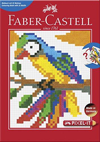 Faber-Castell 201572 Pixel-it Ausmalbuch mit 32 Motiven, 1 Stück