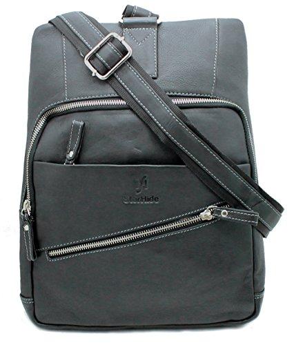 STARHIDE 540 - borsa a tracolla unisex, di tipo messenger, in vera pelle, per Kindle, iPad, Tablet