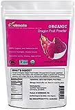 Soulmate Organic Freeze-dried Dragon Fruit Powder, All Natural No Sugar 0 Additive USDA Kosher Non-GMO Pink Pitaya Powder 4.23 Oz(120g)